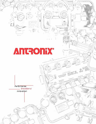Front Page of Antronix Brochure